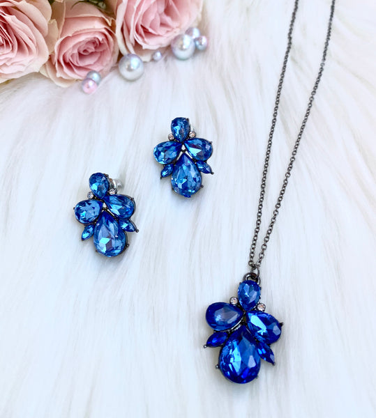 Ocean Blue Ariel Necklace
