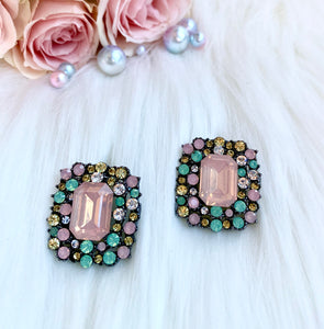 Esmerelda Earrings in Pink