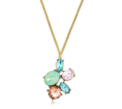 Candy Rhinestone Necklace