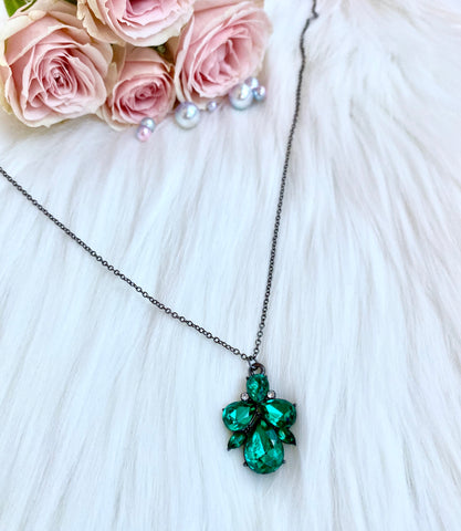 Emerald Ariel Necklace