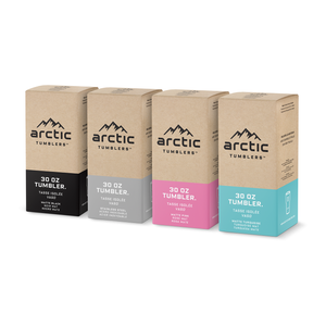 Bundle Pack: 4 Tumblers in 4 Colors - Arctic Tumblers