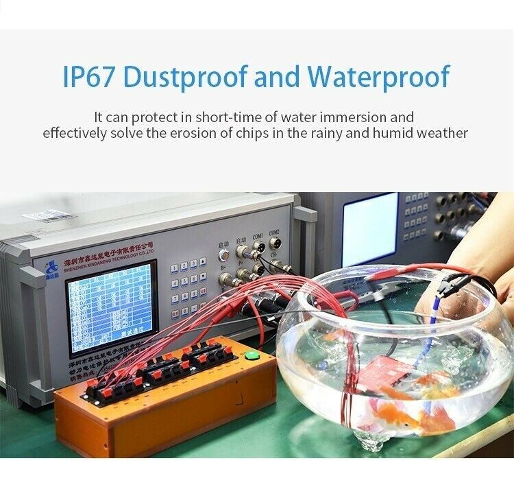 Li-ion BMS PCB 7S 24V 20A Daly Balanced Waterproof Battery Management System UK