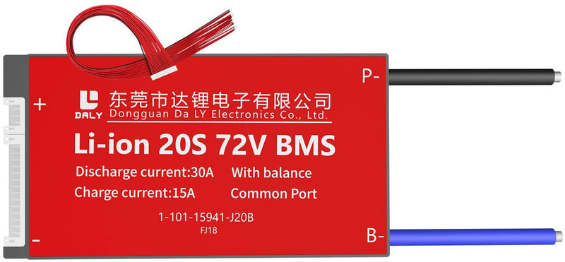 Li-ion BMS PCB 20S 72V 30A Daly Balance Waterproof Battery Management System UK