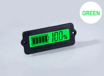 7S 24V Green Lithium-ion Li-ion LiPo Battery Capacity Indicator LCD Display Remaining Detector Meter