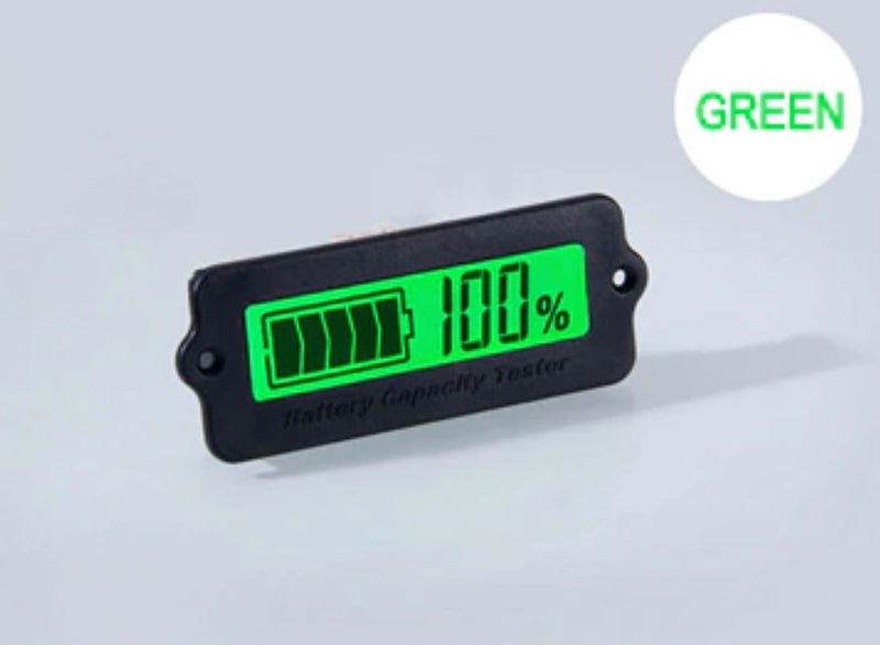15S 55.5V Green Lithium-ion Li-ion LiPo Battery Capacity Indicator LCD Display Remaining Detector Meter