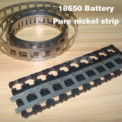 Pure Nickel Belt Strip Strap 5 Metre for 18650 Battery UK Seller / Stock