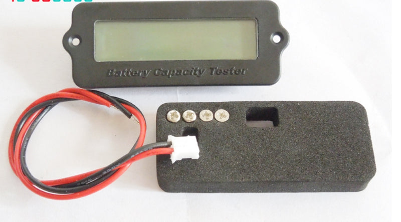 10S 36V Blue Lithium-ion Li-ion LiPo Battery Capacity Indicator LCD Display Remaining Detector Meter