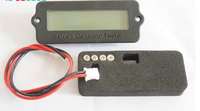 15S 55.5V Blue Lithium-ion Li-ion LiPo Battery Capacity Indicator LCD Display Remaining Detector Meter