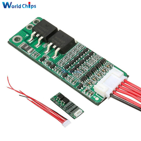 5S 15A 18V BMS Li-ion Lithium Battery 18650 Charger Protection Board Cell Protection Circuit