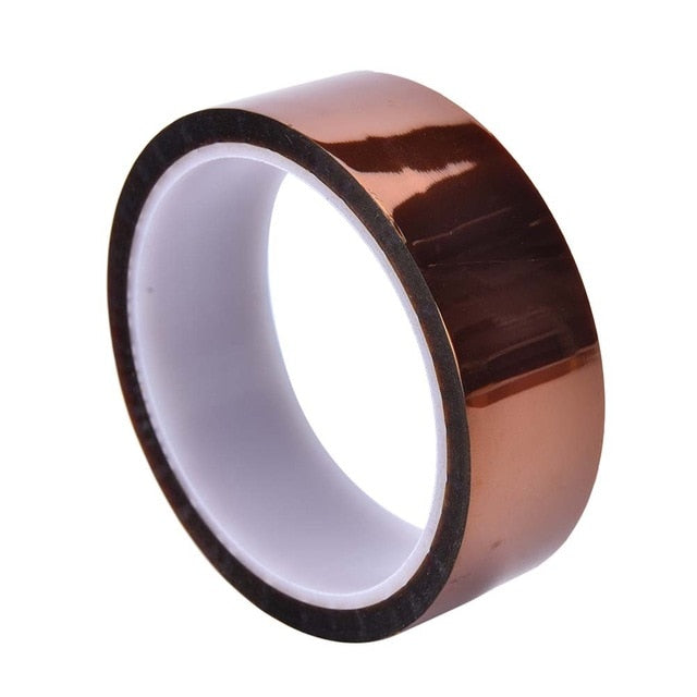 Kapton 30mm High Temperature Heat Resistant Kapton Tape Polyimide for 3D Printer