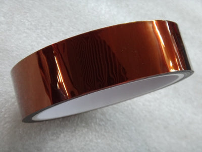 Kapton 25mm Tape 33Meter 100ft Heat Resistant Polyimide Tape High Temperature Adhesive Insulation
