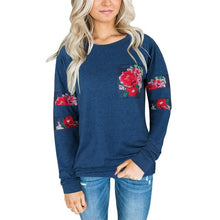 Load image into Gallery viewer, Floral Printed Sweatshirt