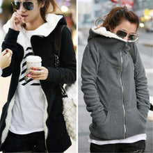 Load image into Gallery viewer, Comfy Thick Fleece Hoodie Jacket