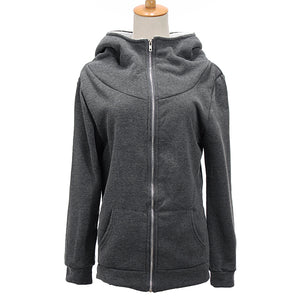 Comfy Thick Fleece Hoodie Jacket
