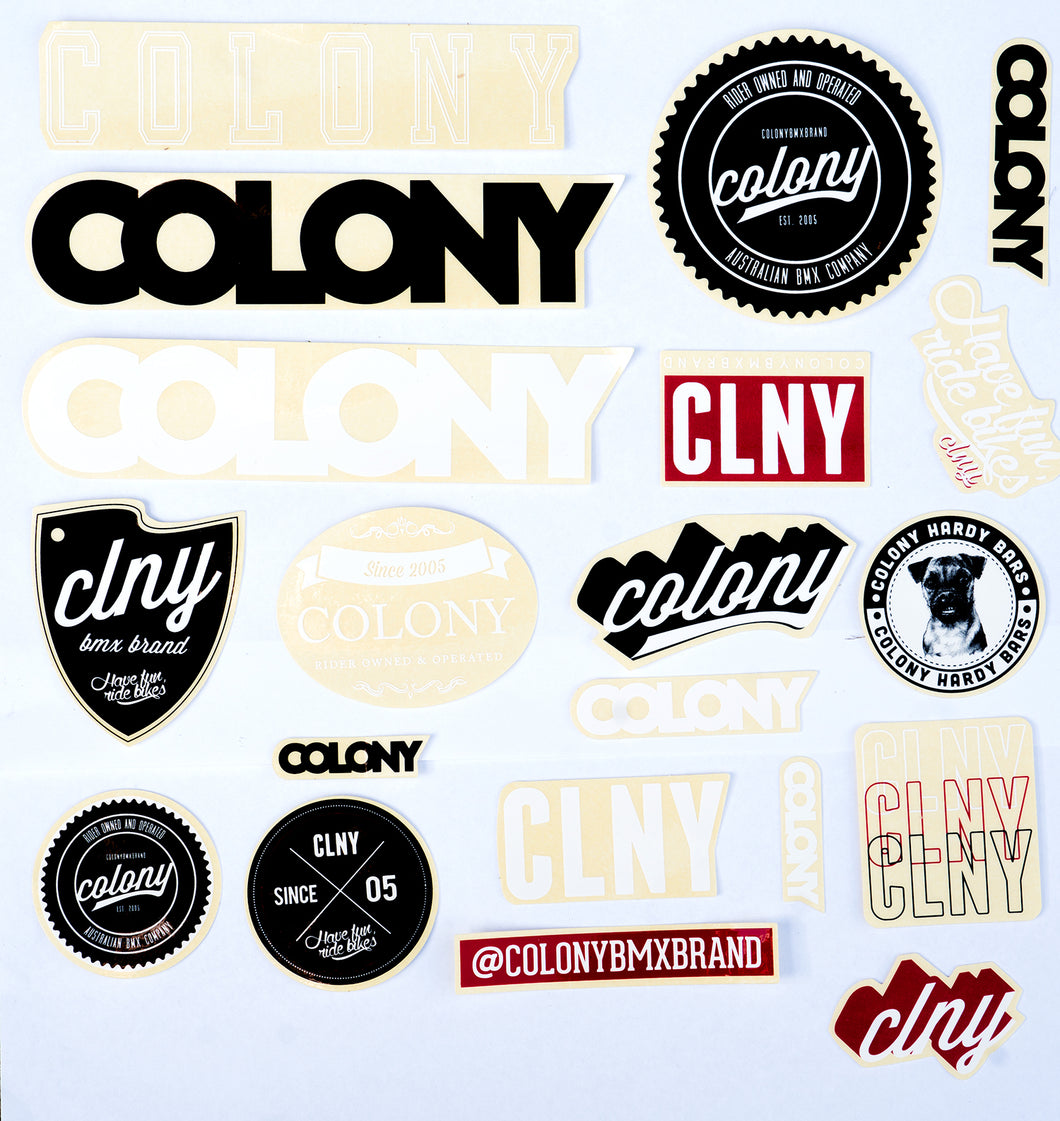 Colony Sticker Pack