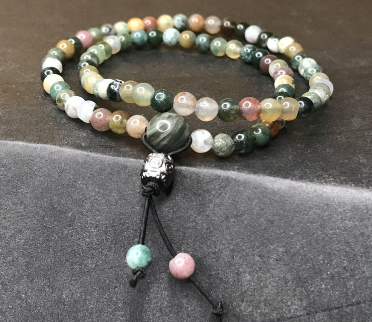 Jasper mini double wrap bracelet