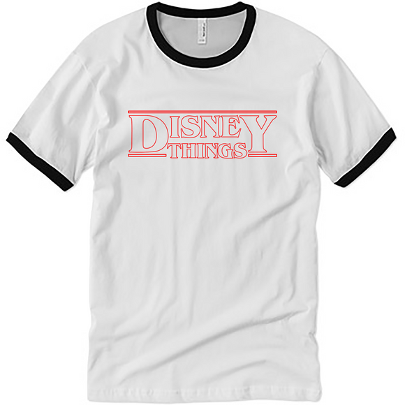 Disney Stranger Things Ringer UNISEX Adult T-Shirt
