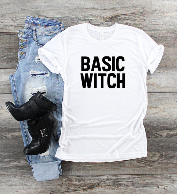 Basic Witch UNISEX Adult T-Shirt