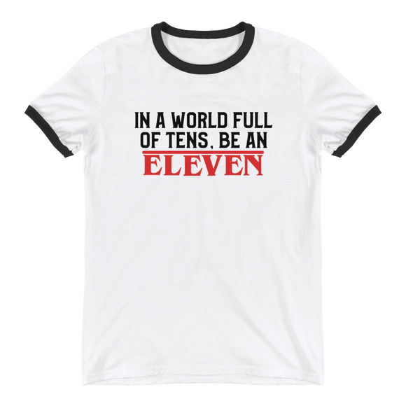 Be Eleven Strange Things UNISEX Adult T-Shirt