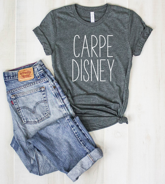 Carpe Disney UNISEX Adult T-Shirt