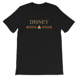 Disney Castle Designer Inspired UNISEX Adult T-Shirt