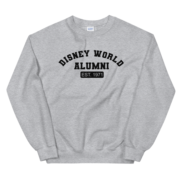 Disney World Alumni UNISEX Adult Sweatshirt