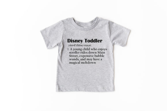 Disney Toddler Definition TODDLER UNISEX T-Shirt