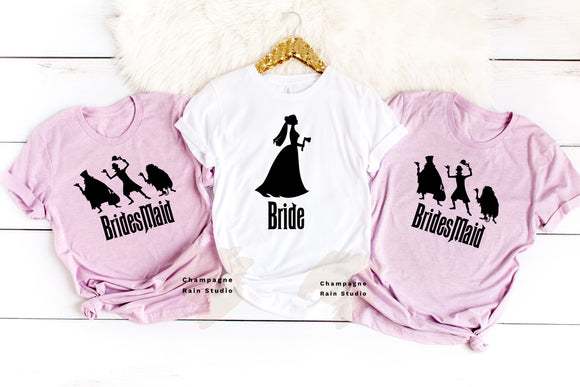 Haunted Mansion Bridal Party UNISEX T-Shirts