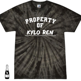 Property of Kylo Ren Adult UNISEX TIE DYE T-Shirt