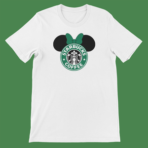 Coffee Mickey Inspired Unisex Shirt
