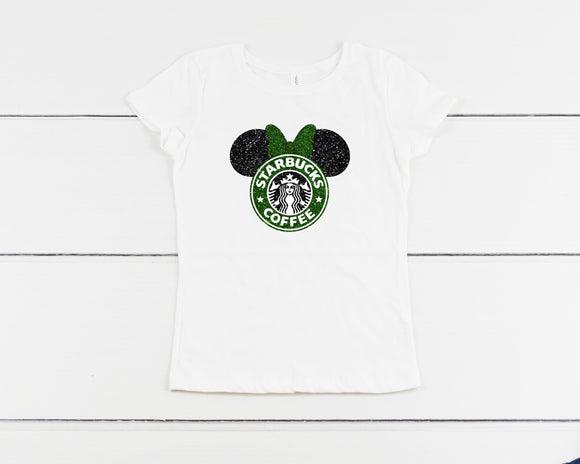YOUTH Coffee & Mickey Inspired Unisex Shirt
