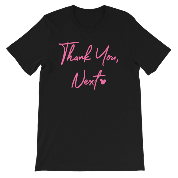 Ariana Grande Thank You Next Mickey Inspired Unisex Shirt