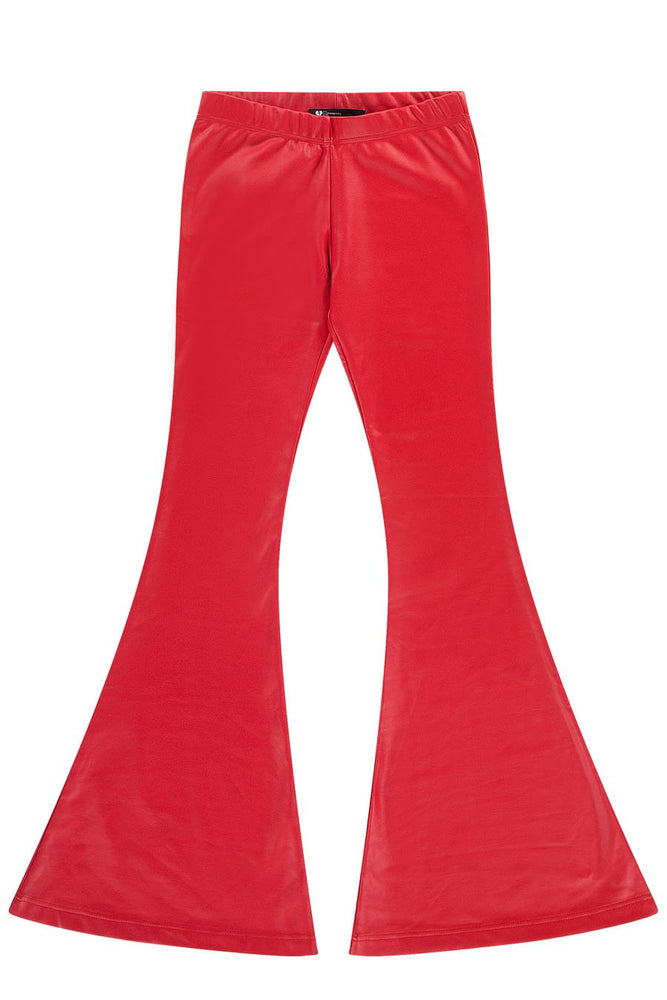 EASY RIDER FLARE PANTS - RED