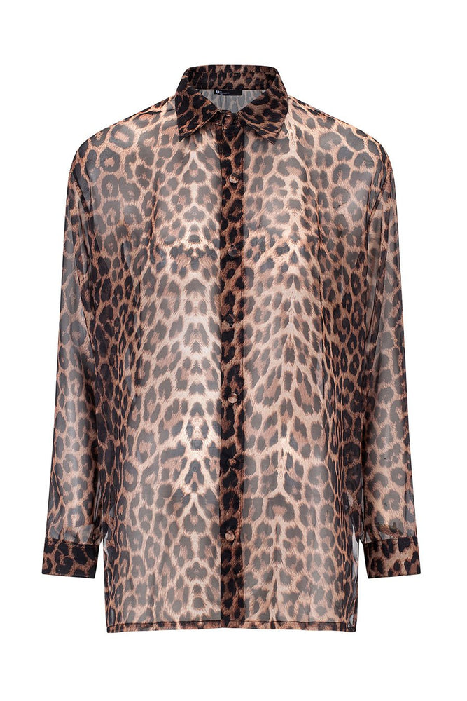 Date Night Leopard Shirt