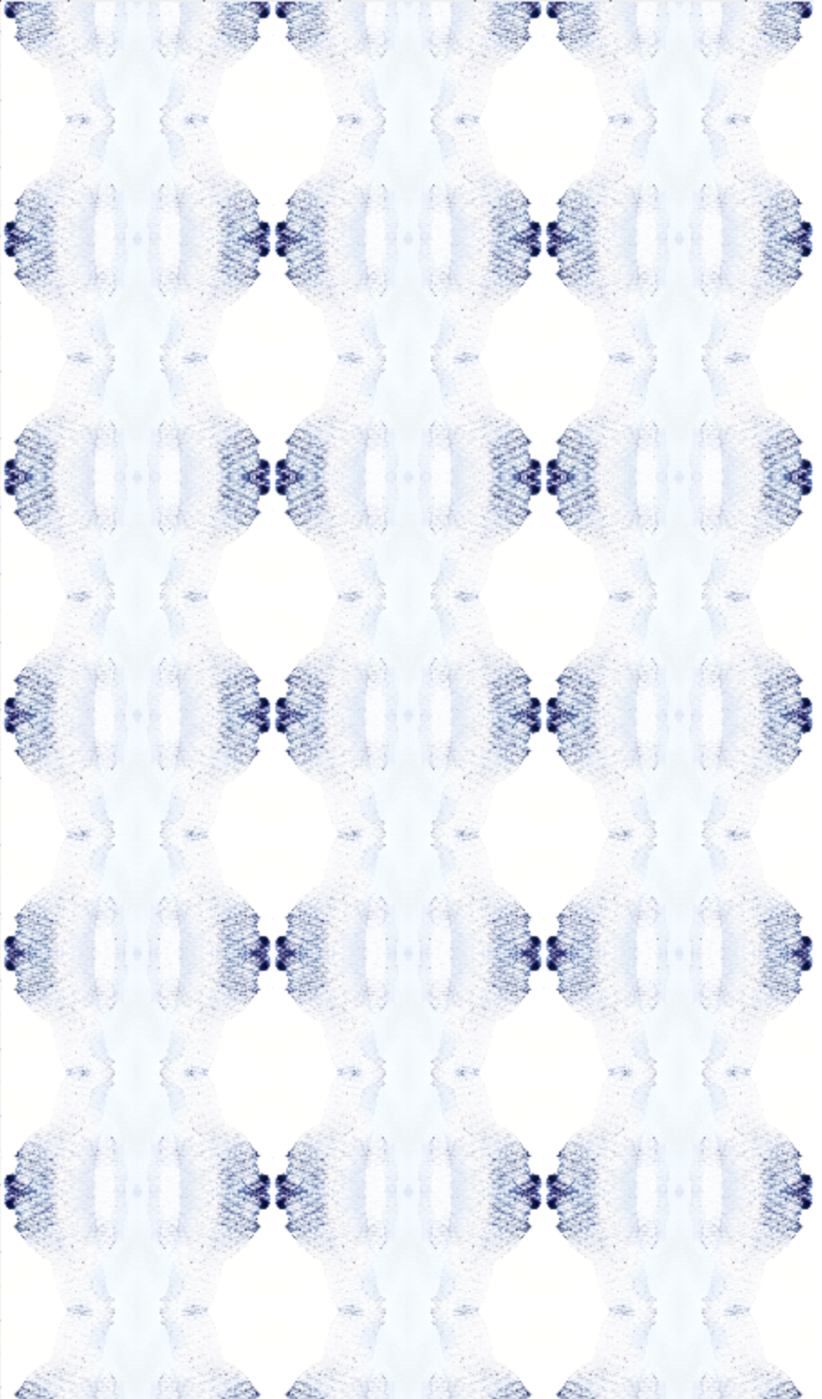 indigo pale blue wallpaper, painted wallpaper, 2018 wallpaper, jennifer latimer, charleston wallpaper, dining room wallpaper