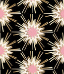 designer wallpaper black gold pink cream wallpaper fabric powder room new trend art nouveau design similar to spark zoffany thistle rug vivienne westwood kelly wearstler style, blackpink wallpaper