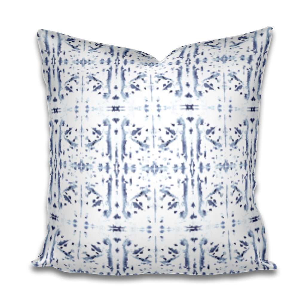 Corfu Navy Pillow