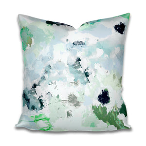 Palm Springs Olive Large Scale Pillow