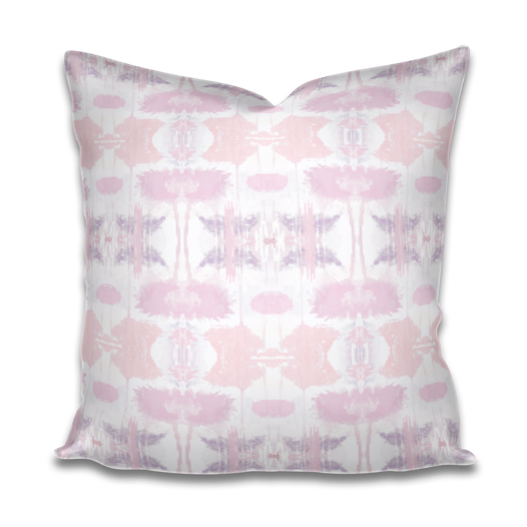 lavender pillow cover, pink and lavender pillow, pink purple pillow, pastel pink and purple pillow