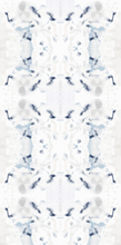 Load image into Gallery viewer, artist wallpaper, artist painted wallpaper, wallpaper decor blue beige, ivory blue wallpaper, home decor wallpaper, new wallpaper decor 2019, jennifer latimer wallpaper, jlldesignllc, jll design llc