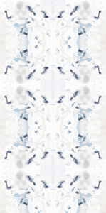 artist wallpaper, artist painted wallpaper, wallpaper decor blue beige, ivory blue wallpaper, home decor wallpaper, new wallpaper decor 2019, jennifer latimer wallpaper, jlldesignllc, jll design llc