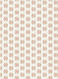 Gold pink white fabric, white gold pink fabric, pink starburst fabric, pink gold burst fabric