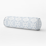 Corfu Blue Bolster Pillow