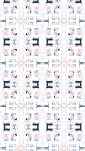 navy pink blush fabric, painterly fabric blue and pink, navy and blush nursery, navy and blush curtains, navy and pink curtains, home blogger curtains, one room challenge curtains