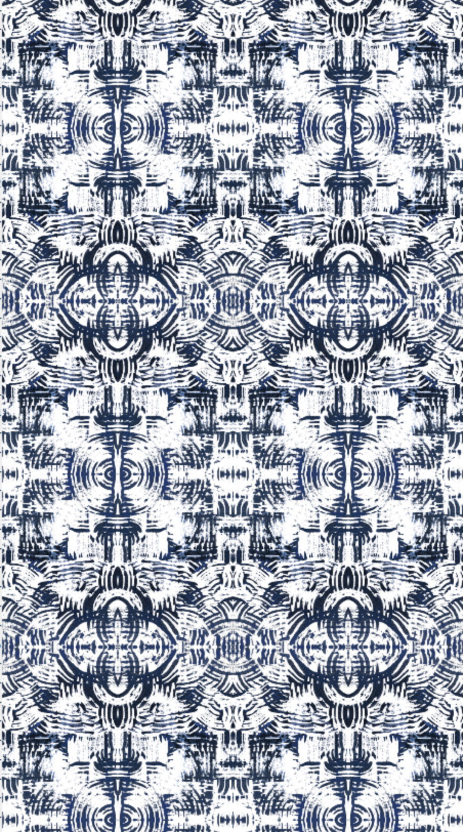 navy white wallpaper, navy paint stroke wallpaper, artist wallpaper, peel and stick wallpaper navy white,