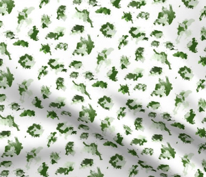 green cheetah fabric, green paint splatter fabric, green leopard fabric, green animal print fabric, green splatter fabric