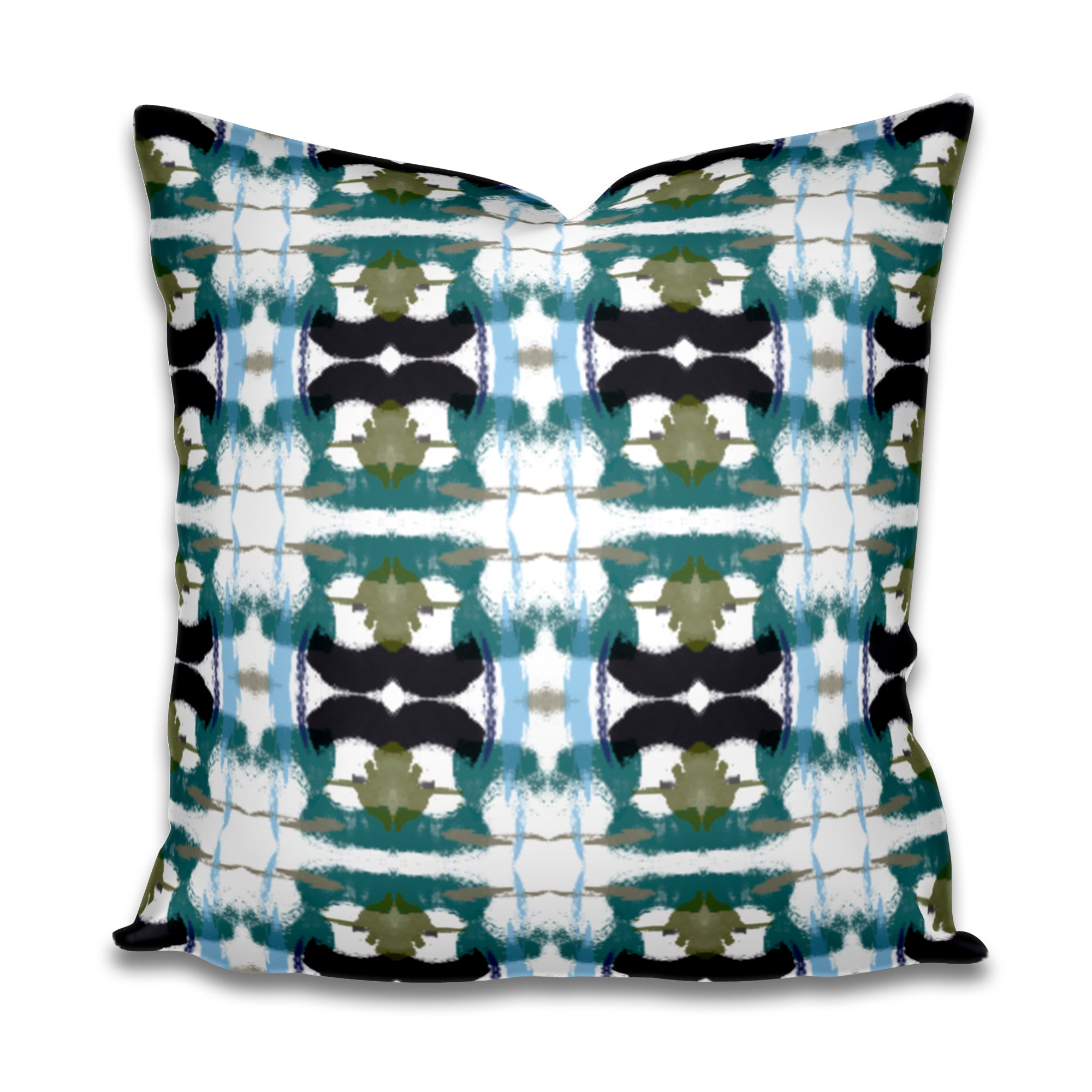 Teal black blue beige pillow, 2019 new pillows