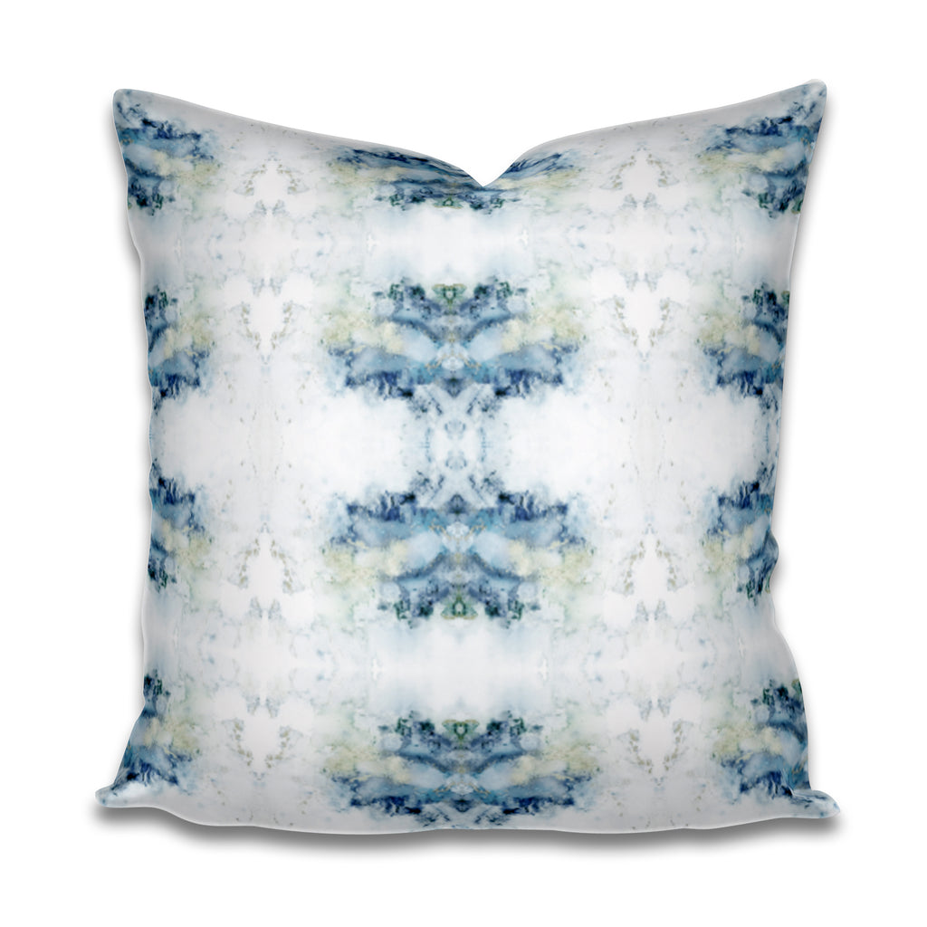 blue green gray pillow, blue green grey pillow cover, pillow cover blue green, pillow cover green blue gray