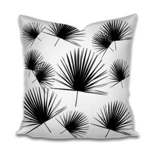 Palmito Black White Pillow