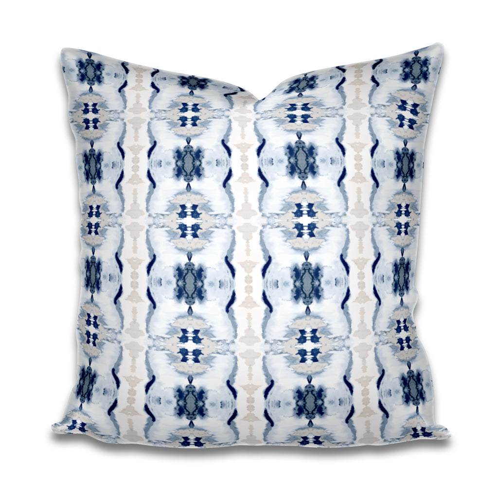 Tajah Navy Pillow